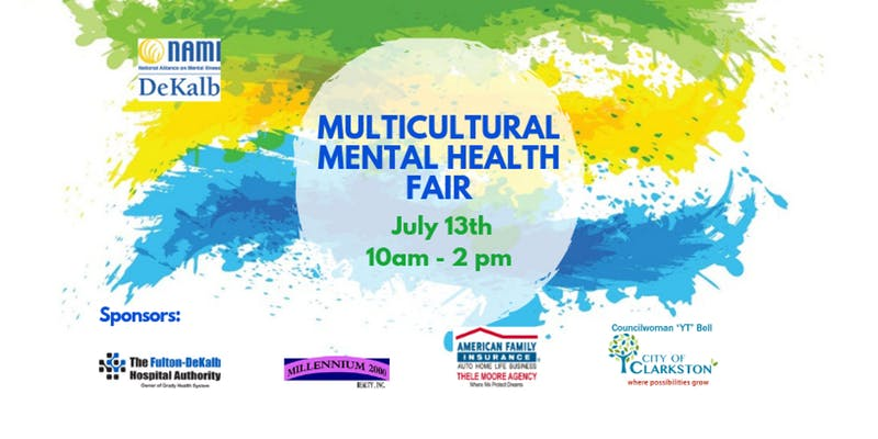 NAMI DeKalb's Multicultural Mental Health Fair in Recognition of Minority Mental Health Month